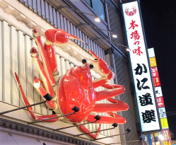 Giant crab. This one moves.