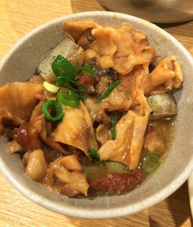 Mystery meat at Daruma